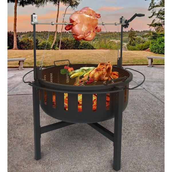 Steel Charcoal Fire Pit by Landmann