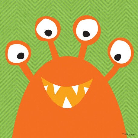 Monster Mugs Canvas Art by Oopsy Daisy