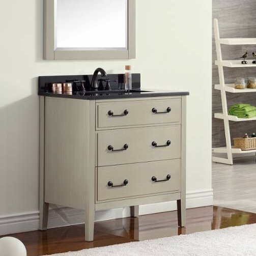 Tharp 31 Single Modern Bathroom Vanity Set by August Grove