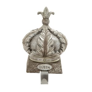 Polystone Queen Stocking Holder