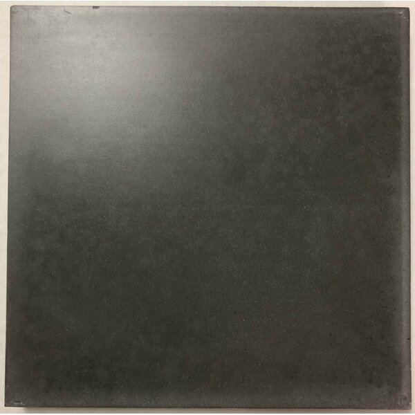 Solid Excalibur 8 x 8 Cement Field Tile in Dark Gray by Villa Lagoon Tile