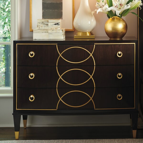 Carlyle Roxy 3 Drawer Bachelors Chest by Lexington