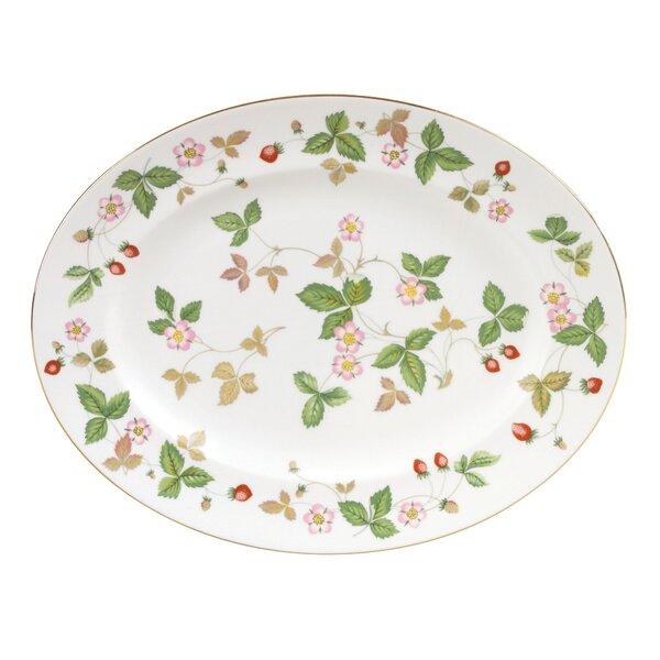 Wild Strawberry Bone China Platter by Wedgwood