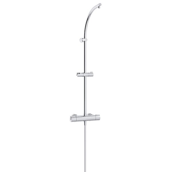 Architect Thermostatic Complete Shower System with Rough-in Valve by Nikles Nikles