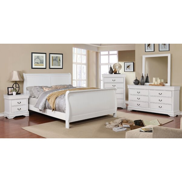 Hinrichs Transitional Sleigh Configurable Bedroom Set by Charlton Home