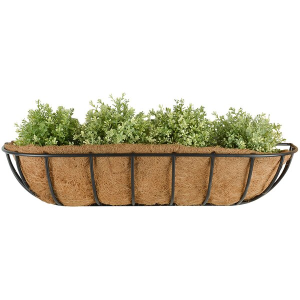 Hayrack Metal Wall Planter by EsschertDesign