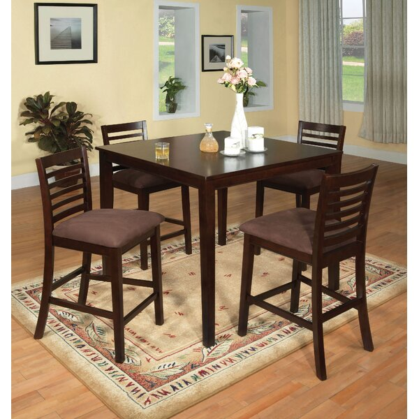 Bram 5 Piece Counter Height Dining Set by Red Barrel Studio