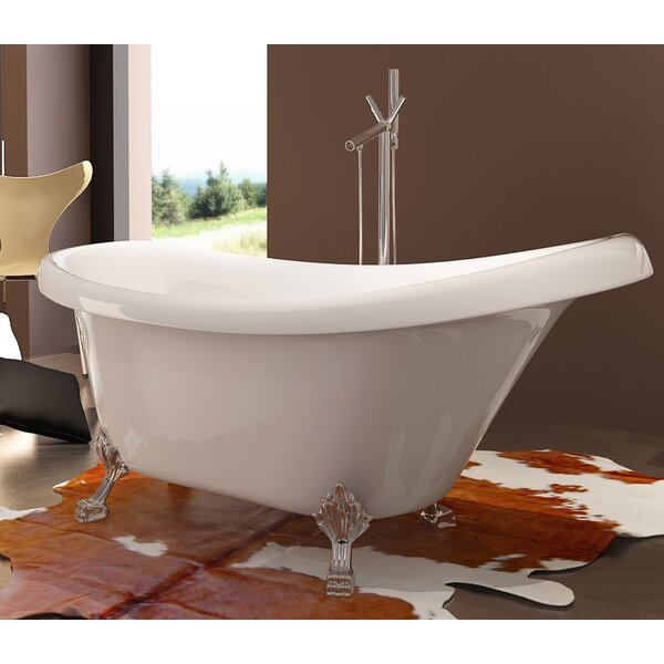 HelixBath Delos 67 x 31.5 Soaking Bathtub by Kardiel