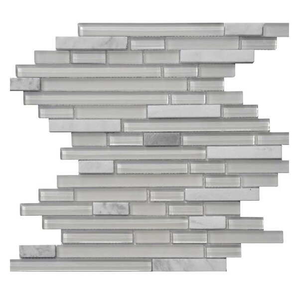 Glass Mosaic Tile in Gray by QDI Surfaces