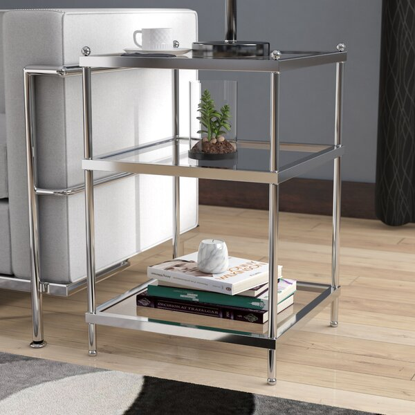 Rigsby End Table with Storage by Orren Ellis