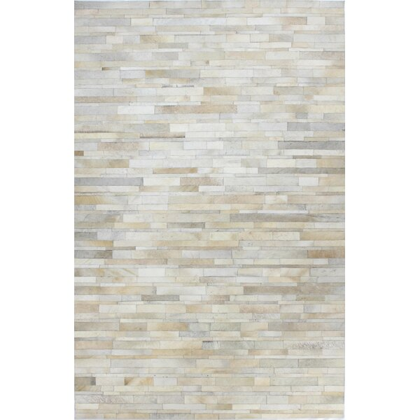 Tyler Ivory & Cream Area Rug by Bashian Rugs