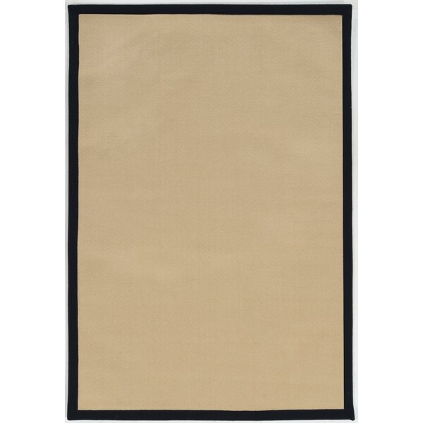 Christiano Natural Area Rug by Rosecliff Heights