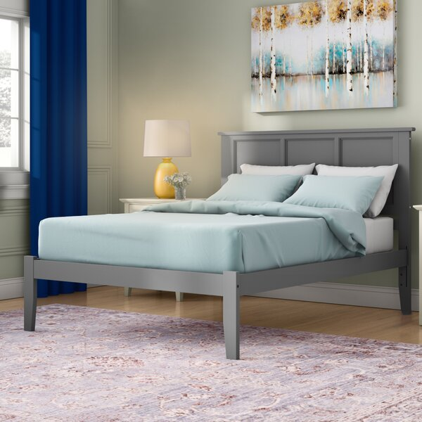 Newmont Platform Bed with Open Footboard by Andover Mills