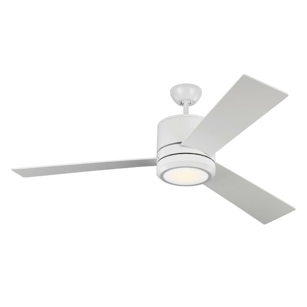 56 Ossu 3 Blade LED Ceiling Fan by Brayden Studio