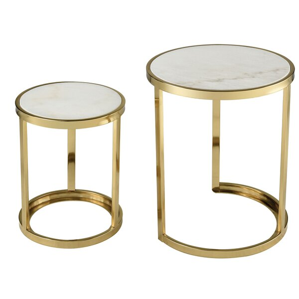 Eagan 2 Piece Nesting Tables By Everly Quinn