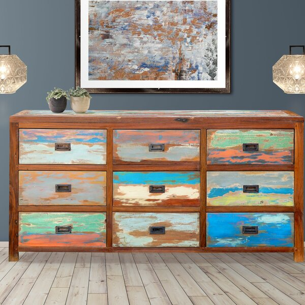 Barnes 9 Drawer Dresser by Loon Peak