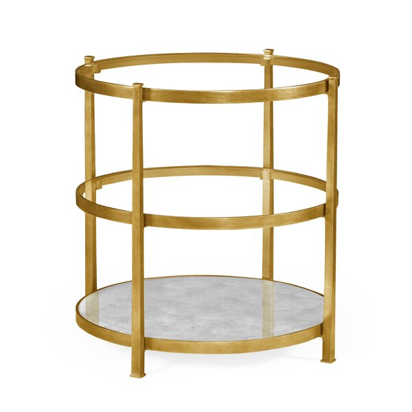 3-Tier End Table by Jonathan Charles Fine Furniture Jonathan Charles Fine Furniture