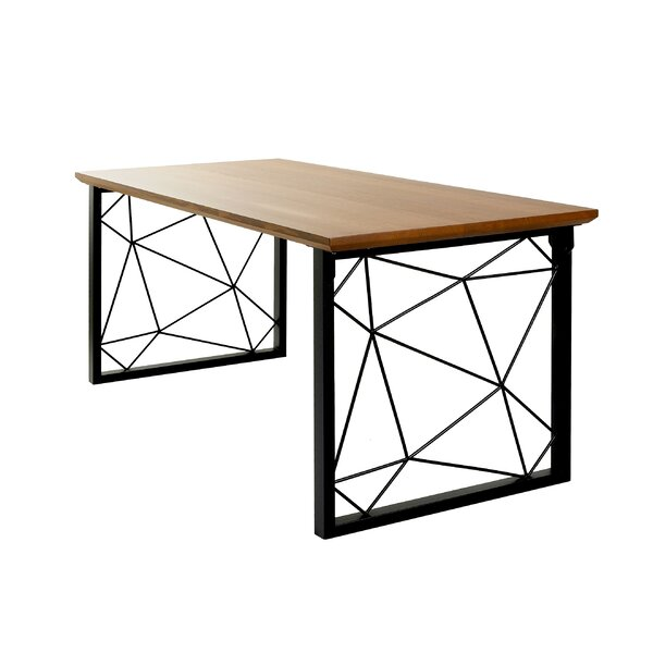 Golden Ash Dining Table 6 Feet By Brayden Studio