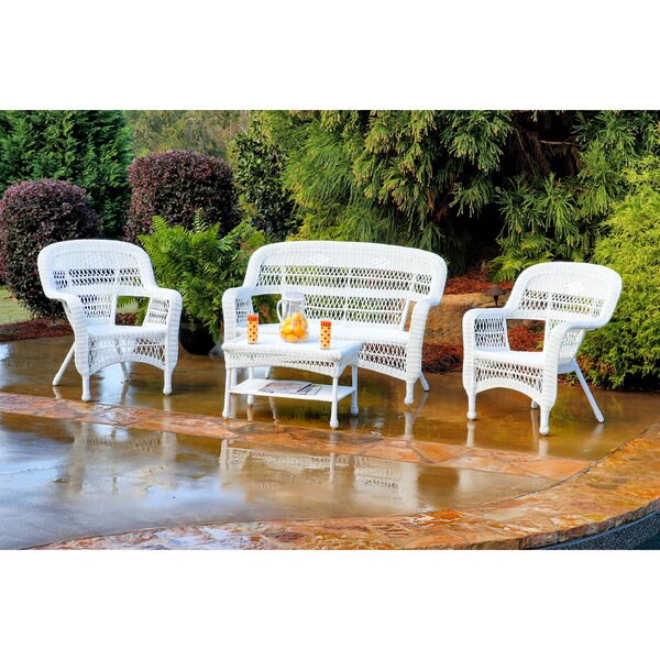 Porter 4 Piece Loveseat Set by Tortuga Outdoor