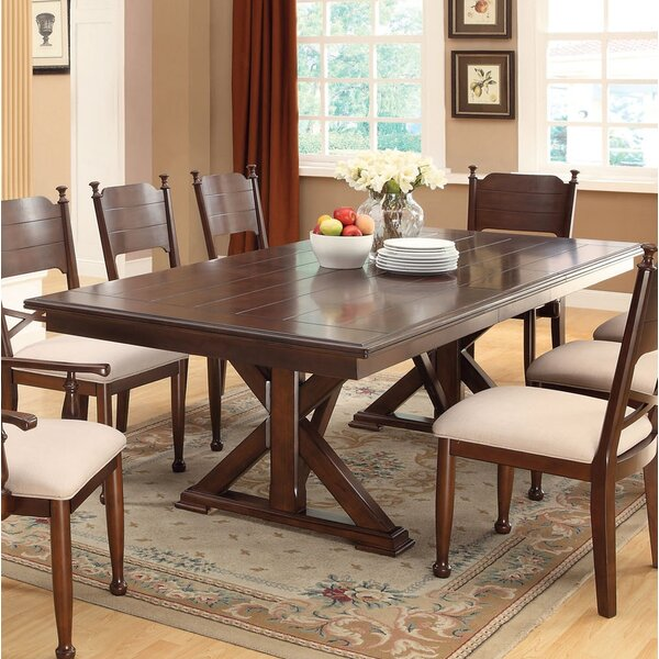 Powhattan Extendable Dining Table by Darby Home Co