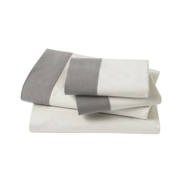 4 Piece Modern Border Sheet Set by DwellStudio