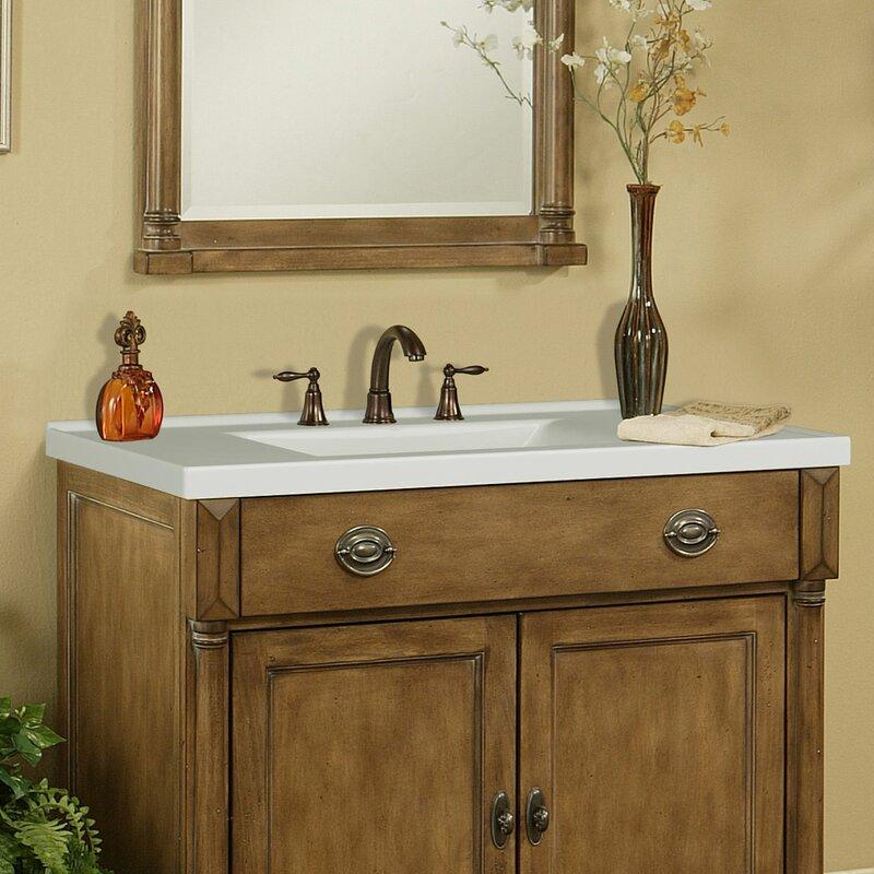 Sagehill 37 Single Bathroom Vanity Top Reviews Wayfair