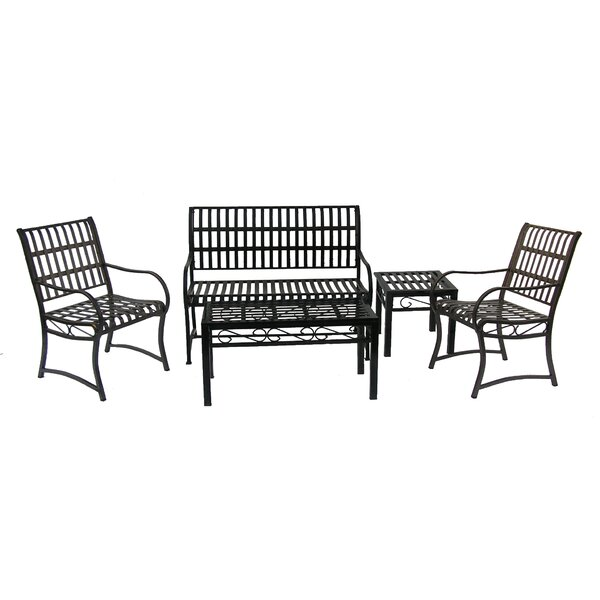 Noble 5 Piece Sofa Set by Oakland Living