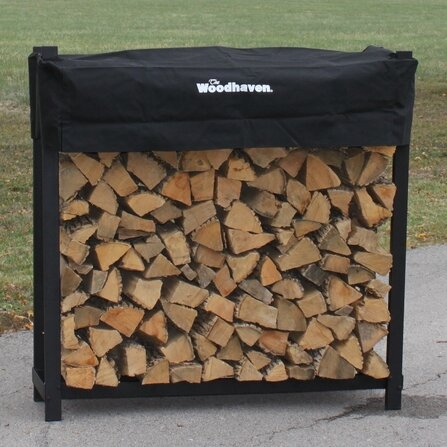 Firewood Log Rack by Woodhaven