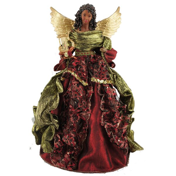 16 African American Christmas Angel Tree Topper by The Holiday Aisle