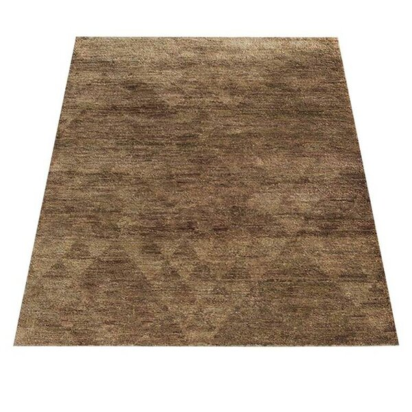St Catherine Hand-Knotted Brown Indoor/Outdoor Area Rug by Millwood Pines