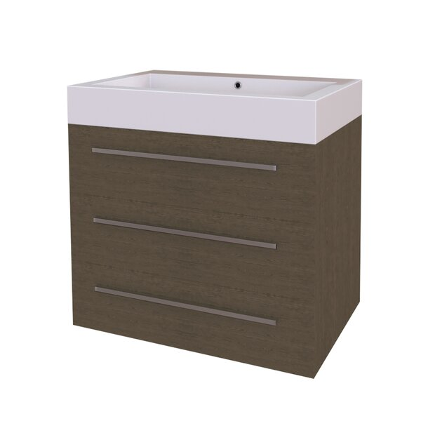 Shameeza 29 Wall-Mounted Single Bathroom Vanity Set