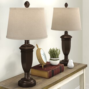 Compare Grosvenor Injection Molded 32 Table Lamp (Set of 2) By Three Posts