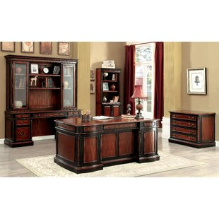 Cheshire 5 Piece Standard Desk Office Suite By Astoria Grand