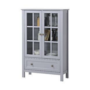 Valerie Tall Accent cabinet Three Posts