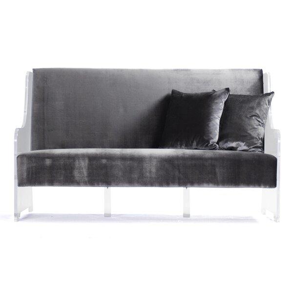 Velvet Sofa by Zentique