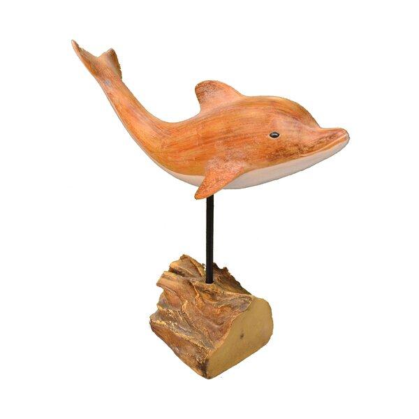 Medium Dolphin Figurine by Fantastic Craft