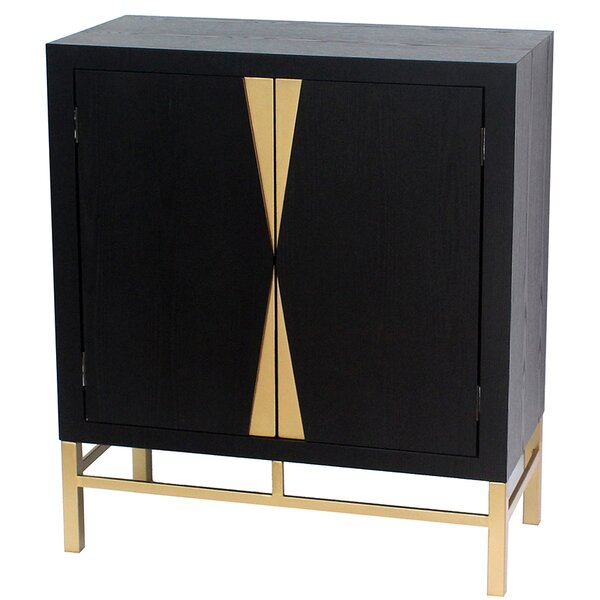 Beryl 2 Door Storage Accent Cabinet by Everly Quinn