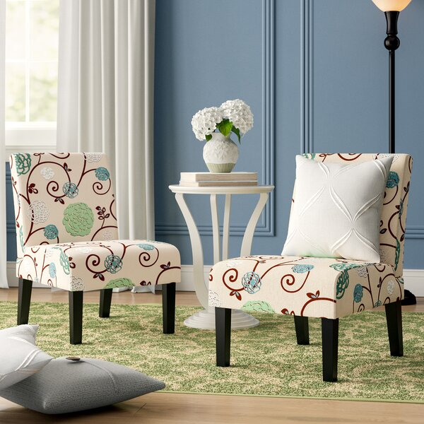 Rivoli Slipper Chair (Set of 2) by Winston Porter