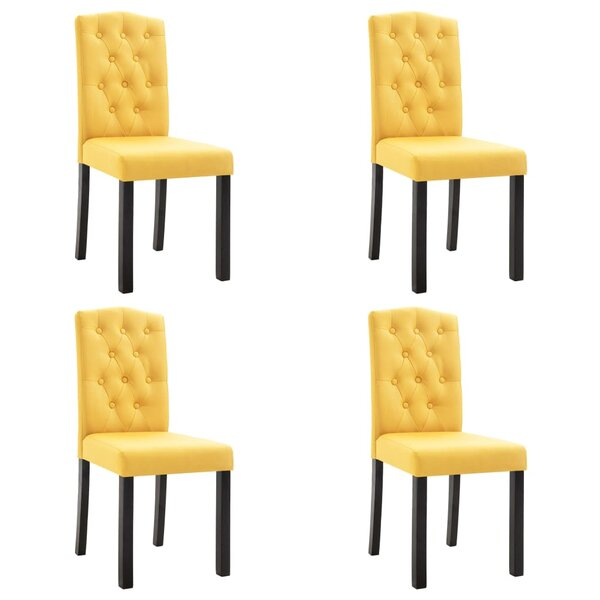 Roque Upholstered Dining Chair (Set of 4) by Ebern Designs Ebern Designs