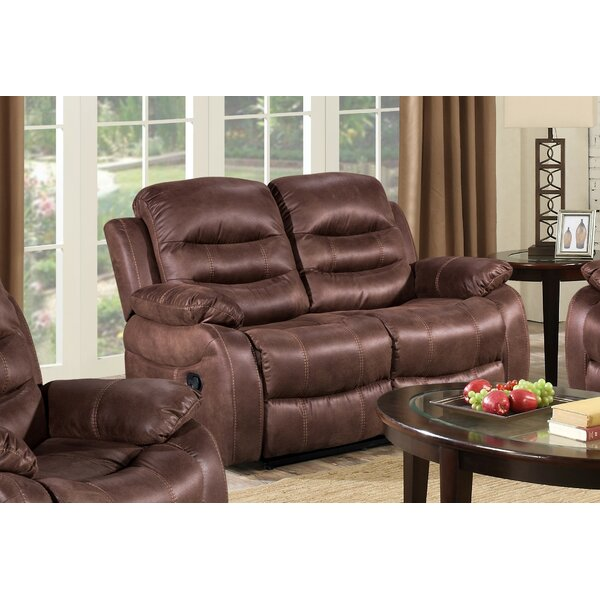 Courville Reclining Loveseat by Winston Porter