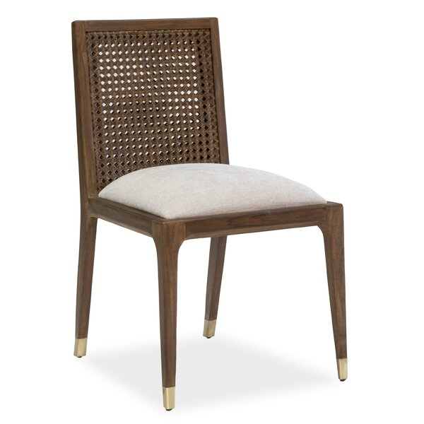 Lilyana Solid Wood Dining Chair by Bay Isle Home