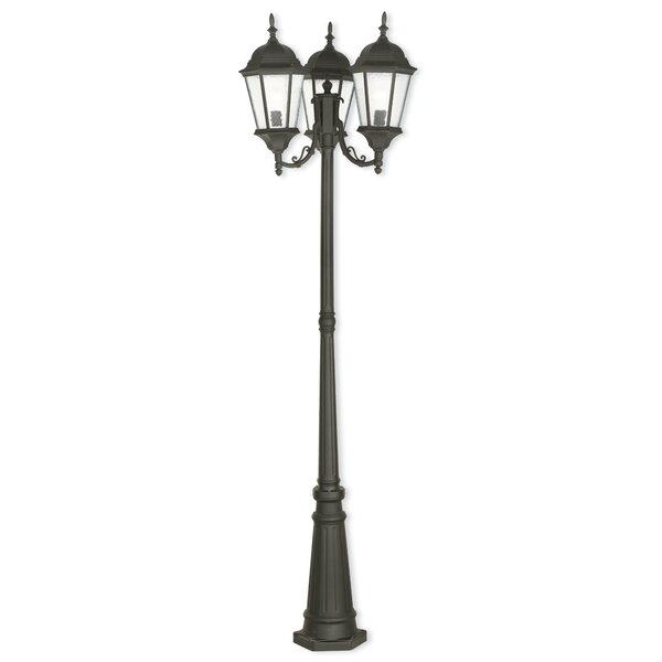 Busse 3-Light 86 Post Light by Darby Home Co