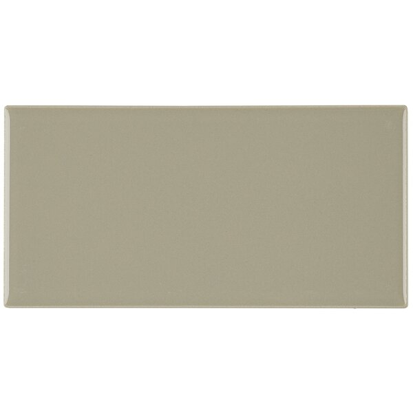 Guilford 3 x 6 Ceramic Subway Tile in Architectural Gray by Itona Tile
