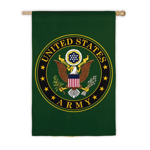 Army Vertical Flag by Evergreen Flag & Garden