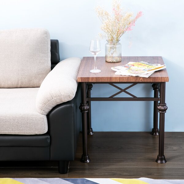 Encinas End Table by Winston Porter
