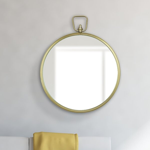 Lafferty Wall Mounted Mirror by Breakwater Bay