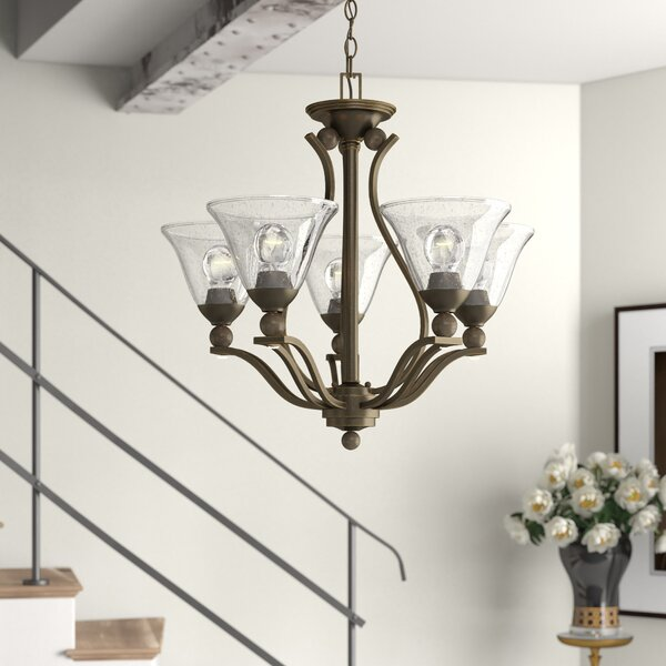 Abeilles 5-Light Shaded Empire Chandelier by Charlton Home Charlton Home