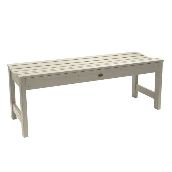 Amelia Wooden Picnic Bench by Three Posts Three Posts