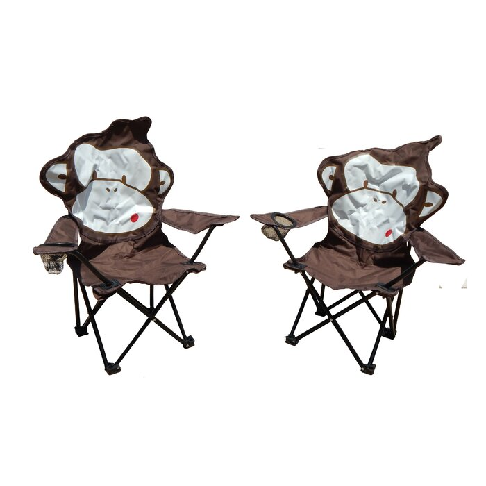 Superieur Marcus Monkey Folding Camping Kids Chair With Cup Holder