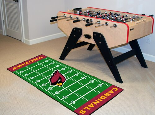 NFL - Arizona Cardinals Football Field Runner by FANMATS